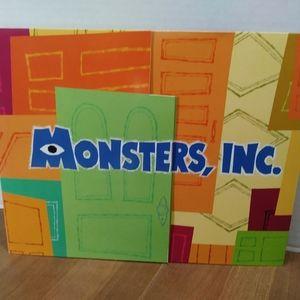 Monsters Inc Pixar Collectible Disney Store Prints